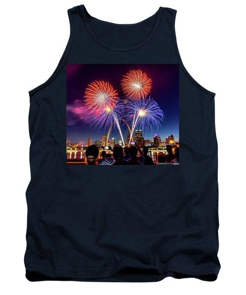 Fair St. Louis Fireworks 6 Tank Top