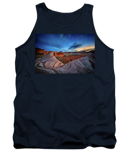 Fire Wave Iv Tank Top