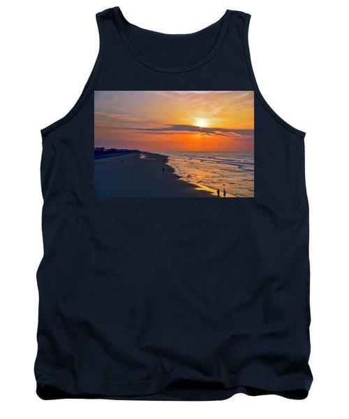 Folly Beach Sunrise Tank Top