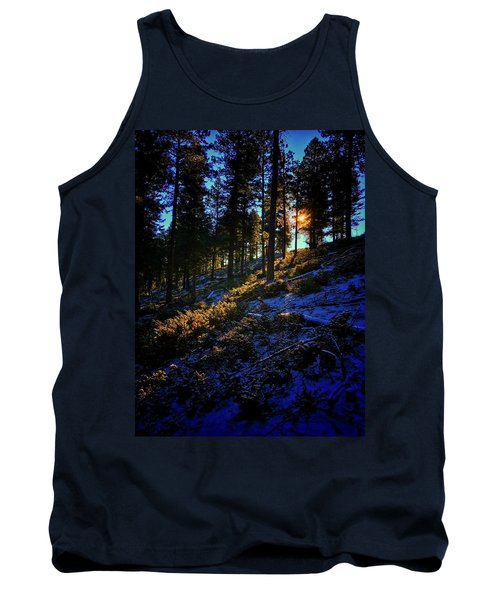 Tank Top featuring the photograph Forest Sunrise by Dan Miller