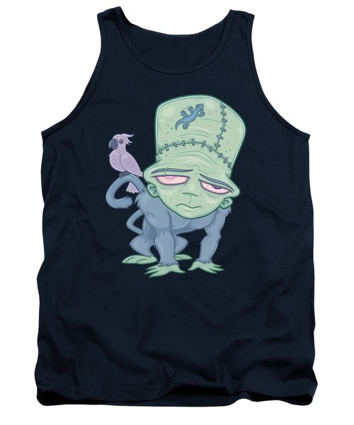 Frunkee - Frankenstein Monkey Creature Tank Top