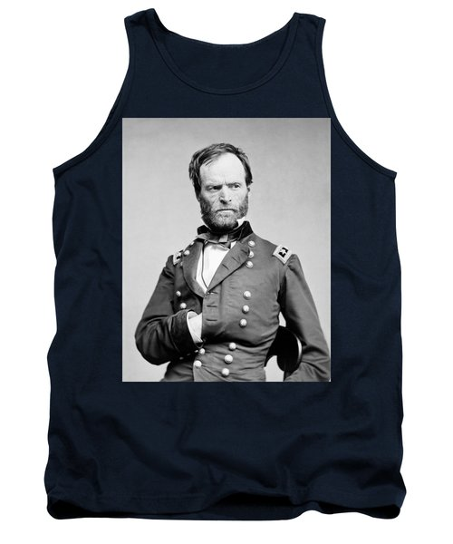 General Sherman - Hand In Coat Portrait Tank Top