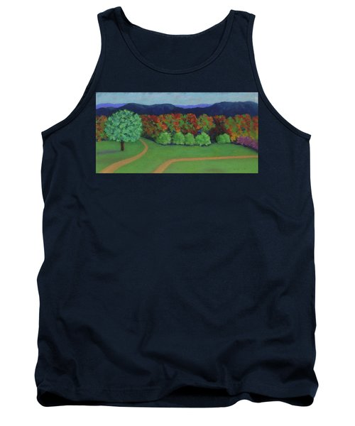 Hutchins Farm In Fall Tank Top