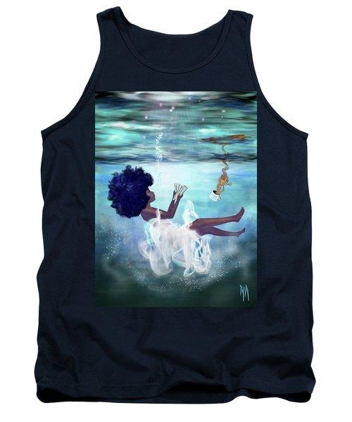 I Aint Drowning Tank Top