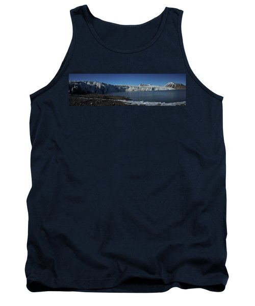 In Front Of A Glacier On Svalbard Tank Top
