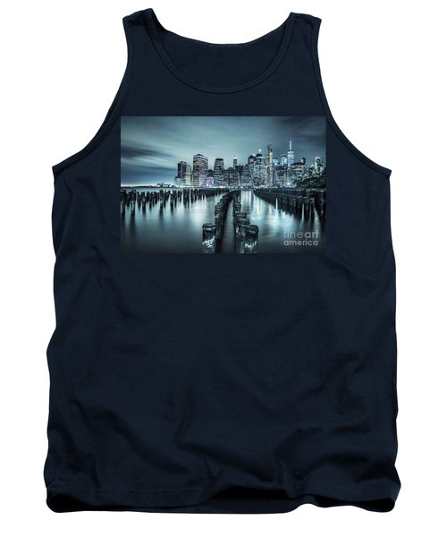 Into The Blue Night Tank Top