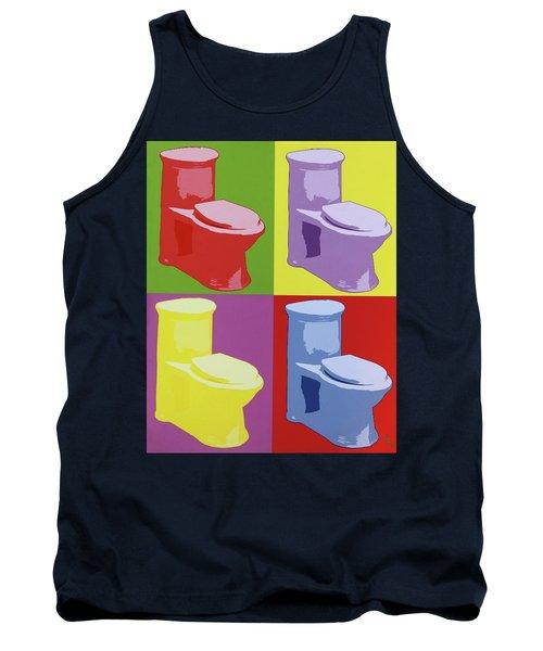 Les Toilettes  Tank Top