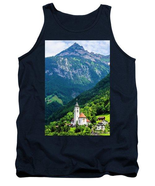 Mountainside Church Tank Top