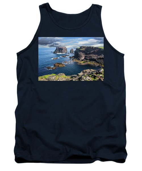 Northmavine Coast, Shetland Isles Tank Top