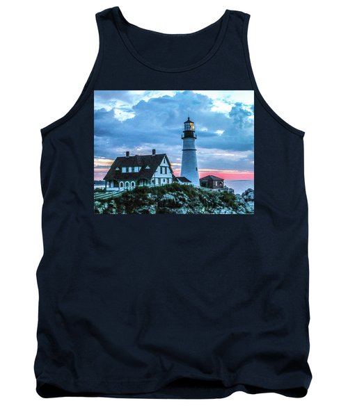 One Of Portlands Lighthouses Tank Top