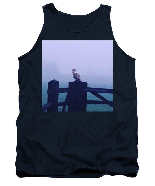 Owl In The Mist Tank Top