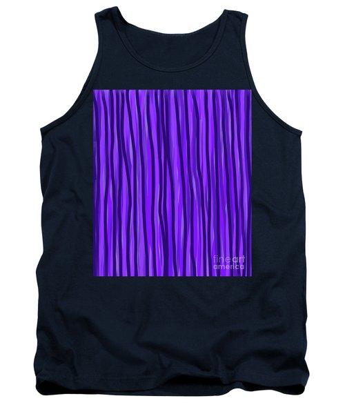 Purple Lines Tank Top