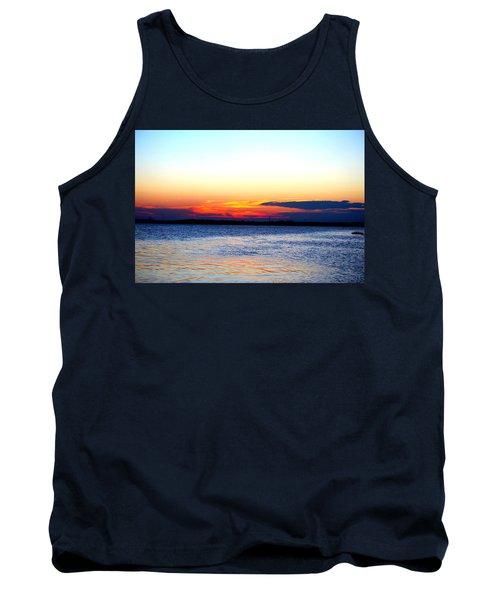 Radiant Sunset Tank Top