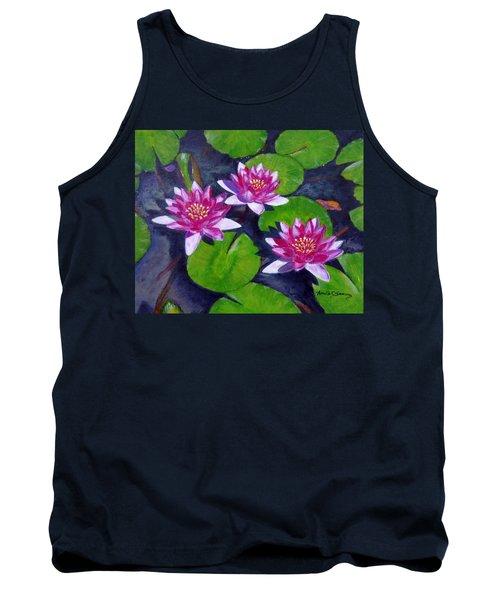 Rancho Water Lilies Tank Top