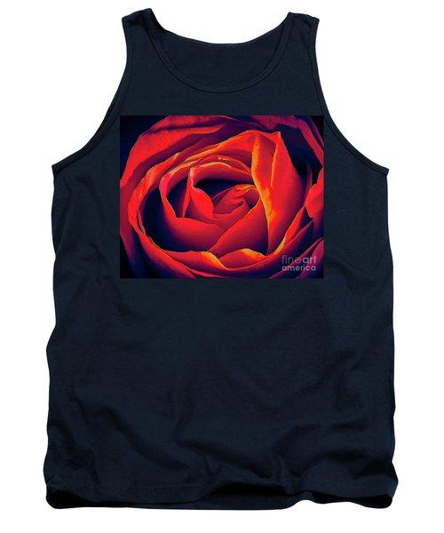 Rose Ablaze Tank Top