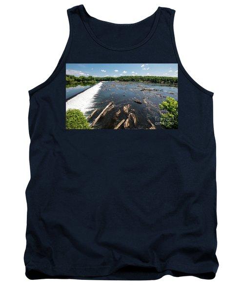 Savannah River Rapids - Augusta Ga Tank Top