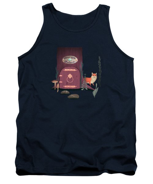 Sorcerer Of Woodland Charms Potions Spells And Fortunes Tank Top