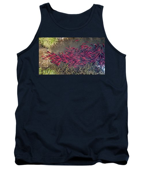 Spawning Kokanee Salmon Tank Top