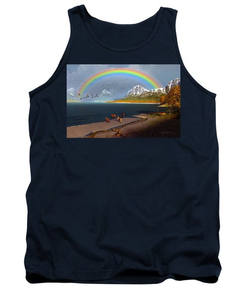 The Rings Of Eden Tank Top