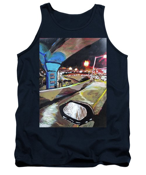 Underpass At Nighht Tank Top