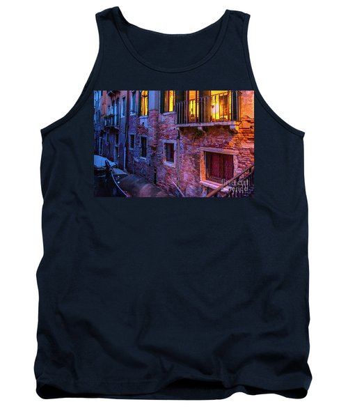 Venice Windows At Night Tank Top
