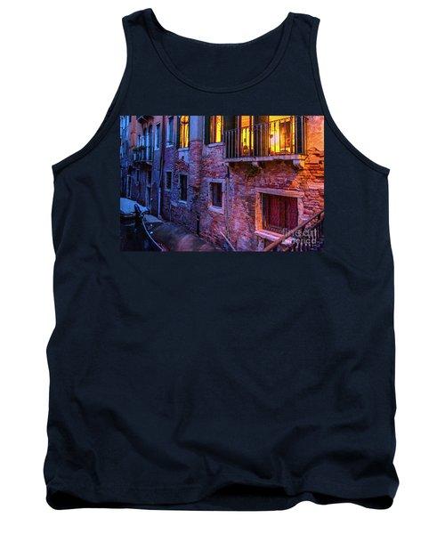 Venice Windows At Night Tank Top