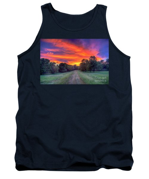 Warm Summer Night Tank Top