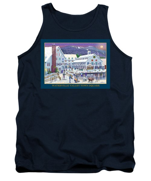 Waterville Valley At Wintertime Tank Top