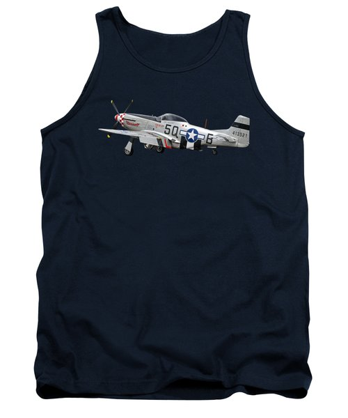 Well Earned Rest P-51 Tank Top