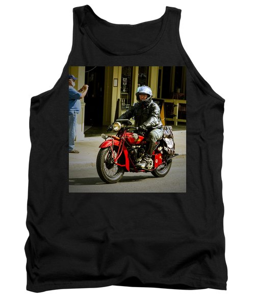 # 70 Rolls In To Cape G'. Tank Top