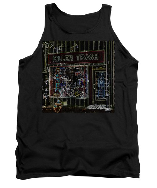 Baltimore Storefront Impression Tank Top by Phil Cardamone