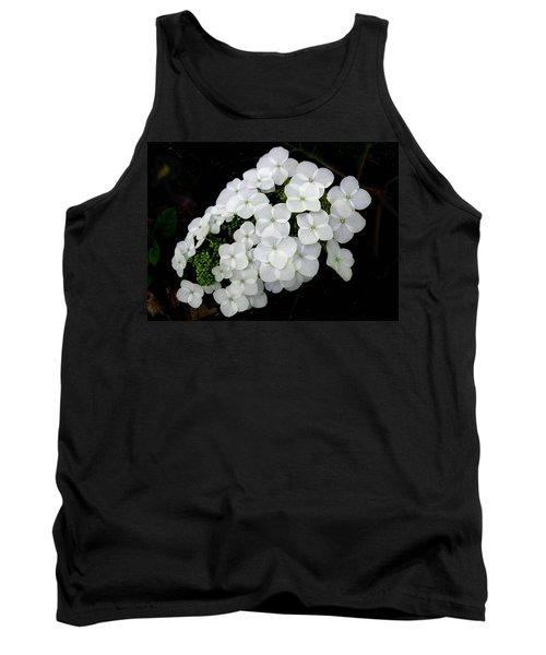 Oak Leaf Hydrangea Tank Top
