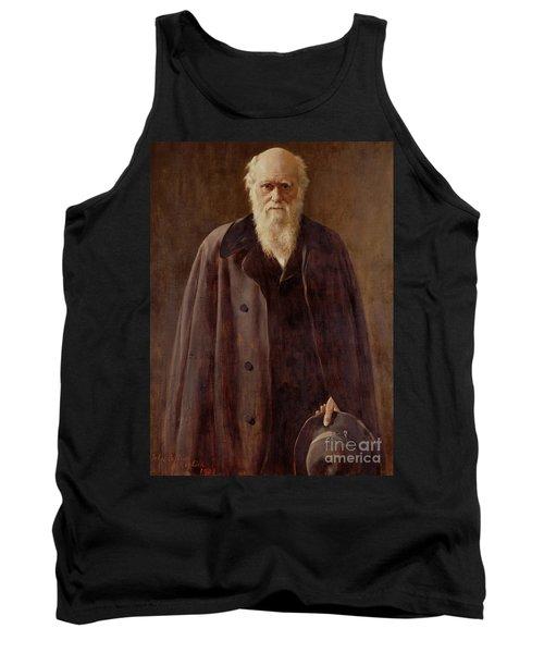Portrait Of Charles Darwin Tank Top