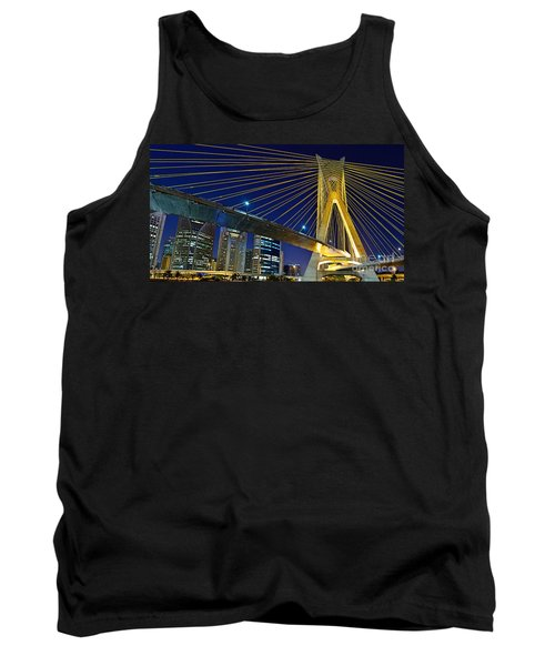 Sao Paulo's Iconic Cable-stayed Bridge  Tank Top