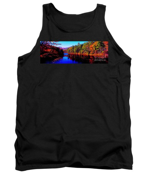 White Mountians National Park Red Eagle Pond New Hampshire Tank Top
