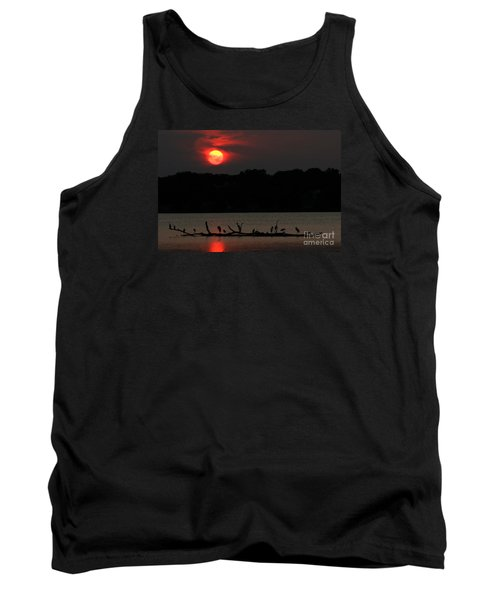 0016 White Rock Lake Dallas Texas Tank Top