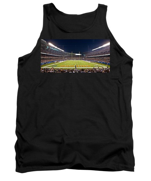 0587 Soldier Field Chicago Tank Top