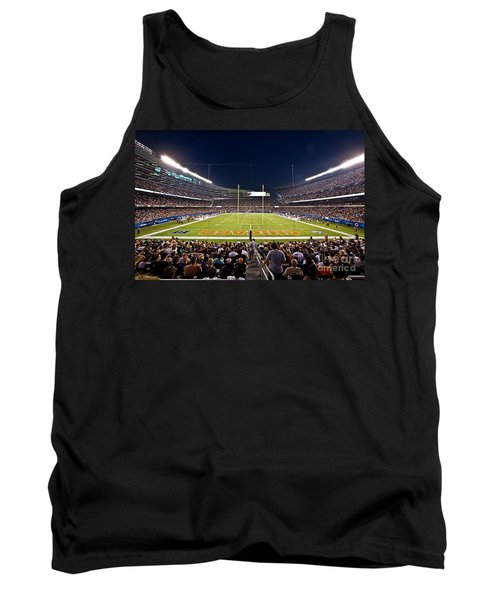 0588 Soldier Field Chicago Tank Top
