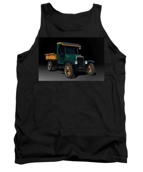 1923 Ford Model Tt One Ton Truck Tank Top by Tim McCullough