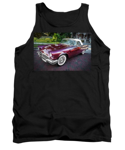 1957 Ford Thunderbird Convertible Painted    Tank Top