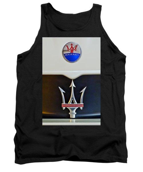 2005 Maserati Mc12 Hood Emblem Tank Top