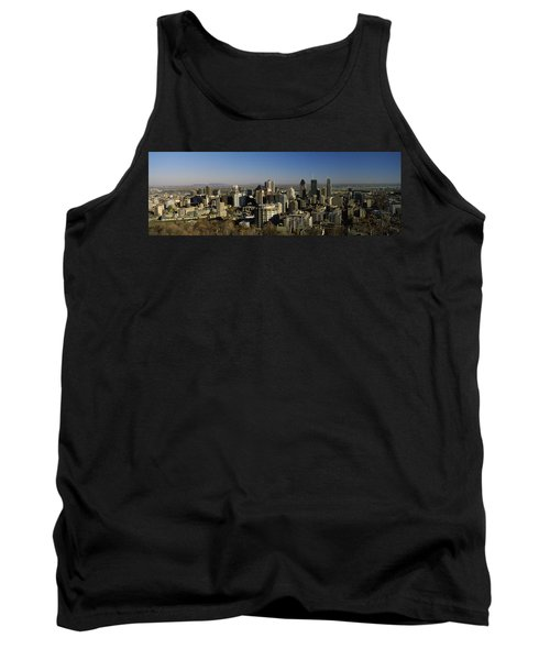 Aerial View Of Skyscrapers In A City Tank Top
