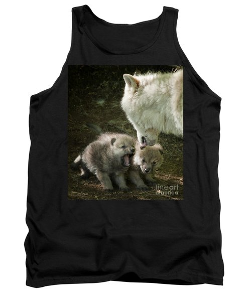 Arctic Wolf Pups Tank Top