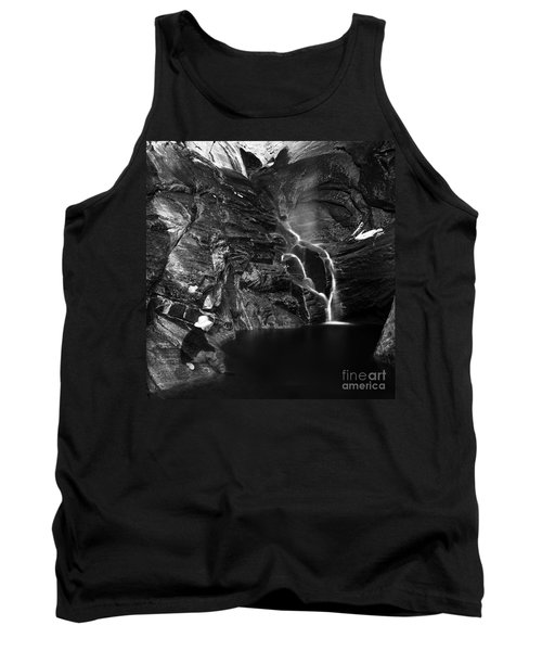 At Waters Edge Tank Top by Christian Slanec