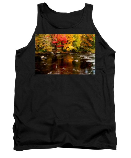 Autumn Colors Reflected Tank Top