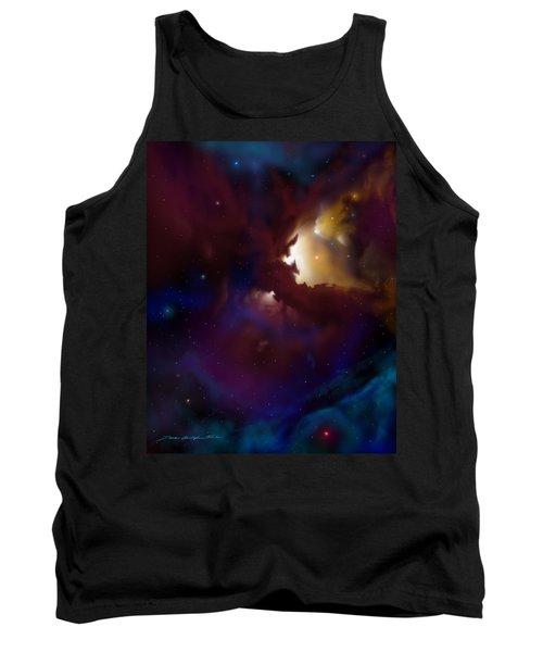 Bat Nebula Tank Top