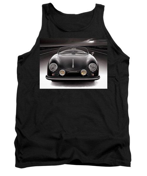 Black Speedster Tank Top