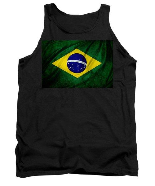 Brazilian Flag Tank Top