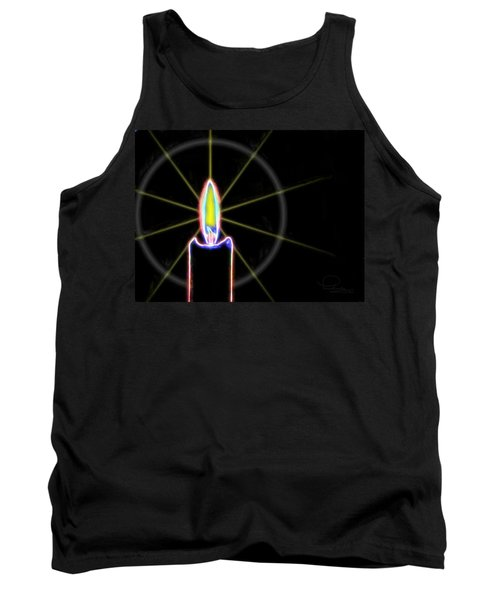 Candle Tank Top by Ludwig Keck