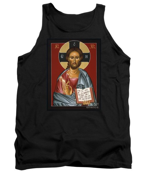 Christ All Merciful 022 Tank Top by William Hart McNichols